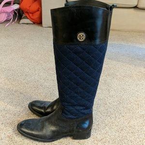 8f9220c91a18 Women s Tory Burch Black Riding Boots on Poshmark